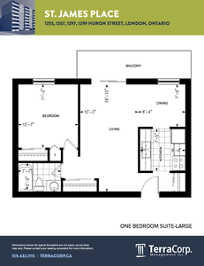 Updated One Bedroom at Huron/Highbury - Available March London Ontario image 7