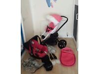 PUSHCHAIR QUINNY MOODD 3IN1 FULL SET EXCELLENT CONDITION!LOOK!