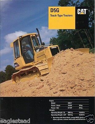 Equipment Brochure - Caterpillar - D5g - Track-type Tractor - 2002 E1053