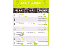 Yoga, Pilates and Dance Classes at Eve & Grace in Battersea