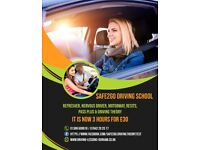PASS your driving test - Beginners first 3 hours driving lessons ONLY £30