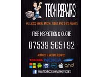 Tech Repairs - PC & Mobile Repair Service (PC, LAPTOP, MOBILES, IPHONES, TABLETS, IPADS, GHD'S)