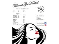 Hair at get nailed
