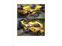 4 MIDI MOTO POCKET BIKES FOR PARTS - not mini motos - local delivery possible