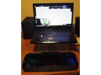 "Novatech Elite N1739- 17.3"" Intel Core i7 4710 - 16GB DDR3 Memory, Video & Gaming Laptop + keyboard"