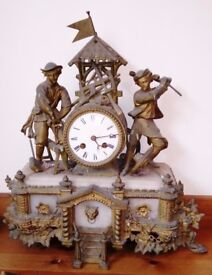 antique french clock for restoration