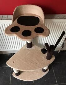 Cat Play Tower and Scratching Post £22
