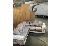 🌞FACTORY WHOLE SALE PRICE🌞BRAND NEW SHANNON CORNER AND 3+2 SEATER SOFA IN STOCK...🚛🌞
