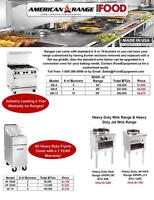 American Range Commercial Cooking Equipment Sale!