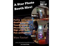 Magic mirror photo booth PRICE CRASH