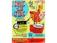 Swing in to spring live jazz & swing evening