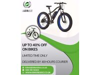BIKE SALE UP TO 40% OFF- ADULT BIKES- KIDS BIKE - BIKE PARTS- GENTS BIKE - LADIES BIKES