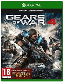 SOLD NEW & SEALED Gears of War 4 (Microsoft Xbox One, 2016)
