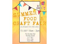 Stallholders Needed for Summer Food and Craft Fair