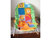 AS NEW Rainbow BABY BOUNCER by Chad Valley