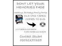 Dont let your memories fade