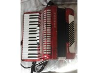 Hohner Concerto Accordion, Excellent Condition