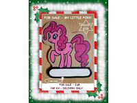 PERFECT CHRISTMAS GIFT, HANDMADE MY LITTLE PONY MDF DOOR PLAQUE, READY TO HANG AN NAME PUT ON!