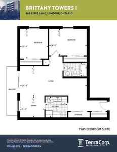 Huge Renovated Two Bedroom Apartment in North London for March London Ontario image 13