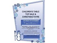 Children's Table Top Sale & Christmas Fayre