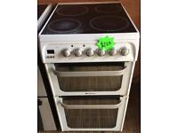 Refurbished Hotpoint hue53 electric Cooker-3 months guarantee!