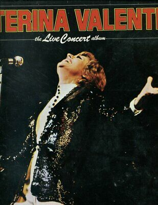 Caterina Valente Live Concert Album LP / Pye stereo vin