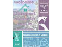 SINGLE ROOM £100pw / NO FEES / NEAR CLAPTON STATION