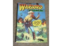 Warlord book for boys 1983