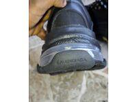 Balenciaga Triple S Clear sole Black (new) trainers 01