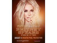 4 x Brighton pride Tickets Britney Spears