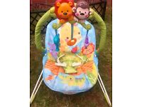 Fisher price bouncy musical chair