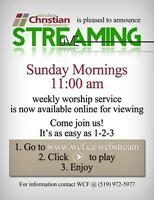 Sunday Church Service Live Stream