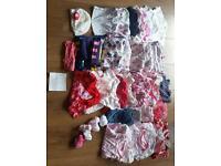 Baby girl bundle 3-6 months