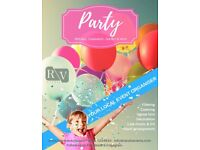 Party organiser - birthday, graduation, garden, private and more
