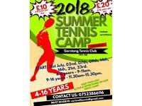 Tennis Summer Camps - Garstang