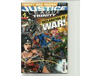 JOB LOT 8 COMICS: AVENGERS UNIVERSE # 2-3 ASSEMBLY /JUSTICE LEAGUE TRINITY # 1 - can post