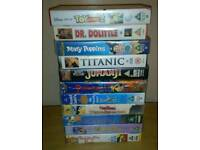 VHS movie tapes