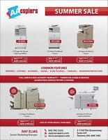 Canon Office Copiers for Lease, Rental or Outright Purchase