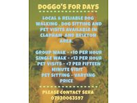 DOGGO'S FOR DAYS - DOG WALKING & PET VISITING SERVICE