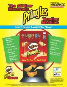Home Based Vending Business Opportunity / Be Your Own Boss / Pringles Vending Machines / Vending Business