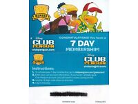 Club Penguin 7 Day Membership