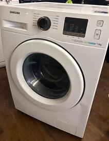 BRAND NEW SAMSUNG ECOBUBBLE 7KG 1400 SPIN WASHING MACHINE IN WHITE ABSOLUTE BARGAIN ....!!!