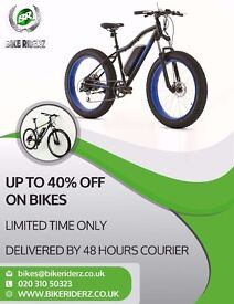 BRAND NEW BIKES - SALE NOW ON - UP TO 40% OFF
