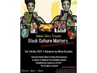 African singers, djembe drummers and musicians wanted for exciting Black History Month Event