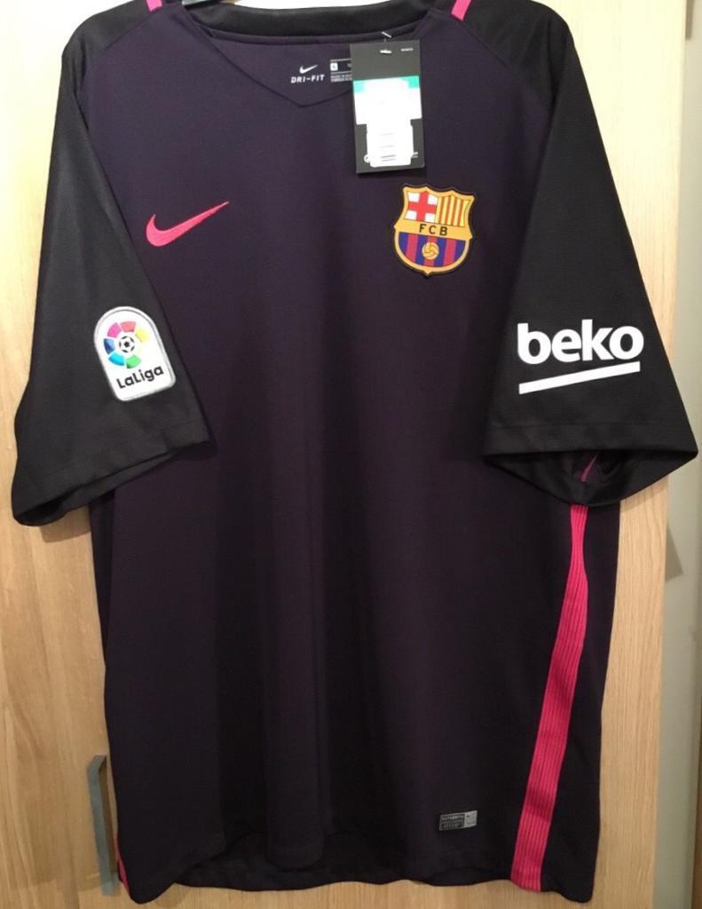 Nike FC Barcelona 2-16 17 Away Shirt. Football Shirt. XL. Brand new with  tags 0c8ba24f0