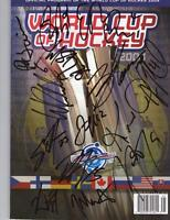 2004 WORLD CUP OF HOCKEY AUTOGRAPHED TEAM CANADA PROGRAM
