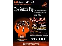 Sutton Coldfield Beginners Salsa Classes