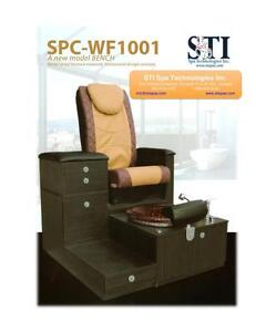 Pedicure bench chair salon spa STIW1001 cheap from manufacturer Peterborough Peterborough Area image 2