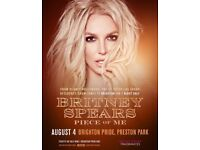 1x Britney Spears @ Brighton & Hove Pride Ticket 04/08/18