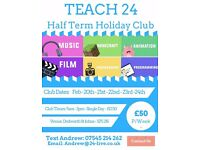 February Half Term Holiday Club